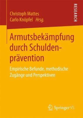 Cover «Armutsbekämpfung durch Schuldenprävention»