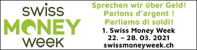 Swiss Money Week: Sprechen wir über Geld! 22. bis 28. März 2021